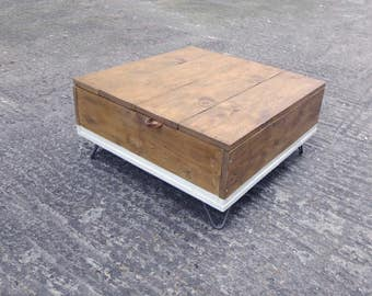MILIA - Reclaimed Wood Dipped Coffee Table