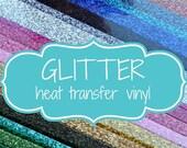 Siser Glitter HTV, 12 X 20, Glitter Vinyl, Glitter Heat Vinyl, Any Color, Fast Shipping, Tee Vinyl, Shirt Vinyl