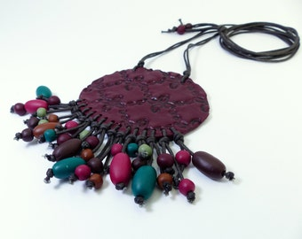 Necklace long Hippie