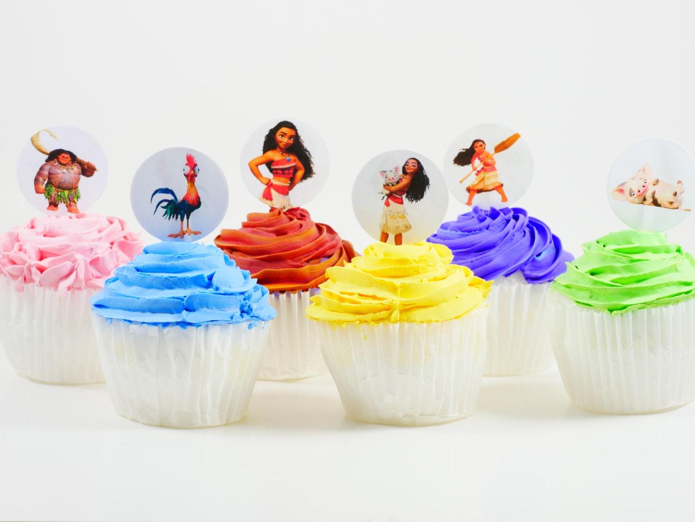 Resultado de imagem para cupcakes moana