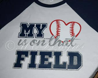 My heart is on that field