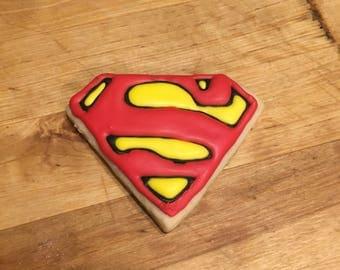Superman Cookies Dozen
