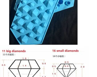 Diamond mould,resin mold,diamond resin mould,uv resin,mould casting,resin supplies,mould