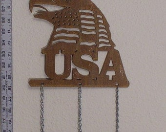 USA Eagle Wind Chime