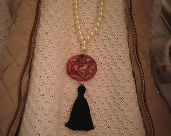 Add a monogram to any necklace!