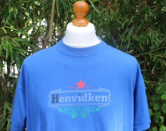 Vintage Short Sleeved Heineken T-Shirt - Size Extra Large