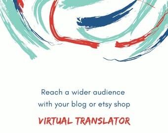 bilingual virtual assistant, blog translation, bilingual etsy seo, content translation, bilingual blog web translation, document translation