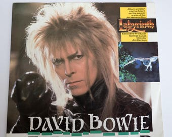 "David Bowie - Underground 7"" Single Record"