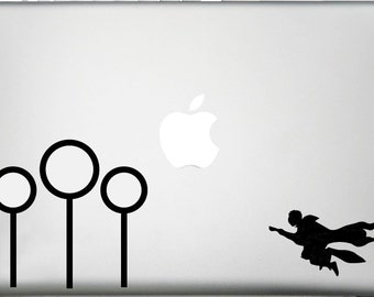 Harry Potter Quidditch Decal - Computer Decal