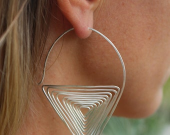 Triangle Spirals