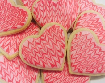 Sweetheart Valentine's Day Sugar Cookies (Gluten Free Available!)
