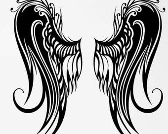 Angel Wings - Sticker/ Vinyl / Decal