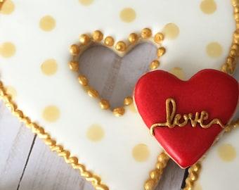 Love n' Heart Cookies