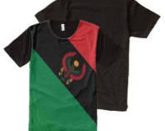 UProSquad RBG Heru Em Akhet All Over Print T Shirt