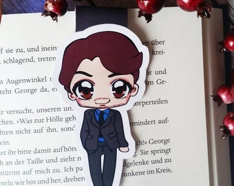 "LE magnetic bookmark ""Connor Walsh"" - inspired by how to get away with murder"