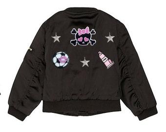 Baby bomber jacket | Etsy
