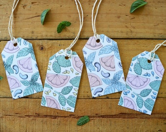 Pattern Gift Tags (x4)