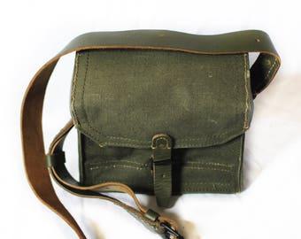 "Vintage Ammo Bag ""The Lensman II"" Army Military Vintage Antique"