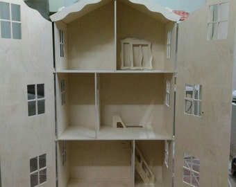 Dollhouse for Barbie collapsible