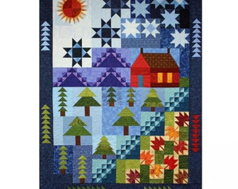 Cabin by the Lake Quilt Pattern