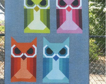 Allie Owl Quilt Pattern