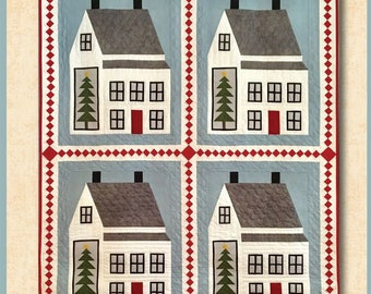 All Through the House Quilt Pattern