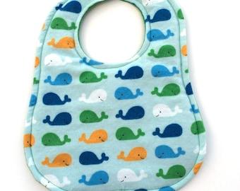 Whale Baby Bib
