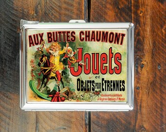 cigarette case aux buttes chaumont jouets et objets pour etrennes poster tv friends wallet card money holder cigarettes box