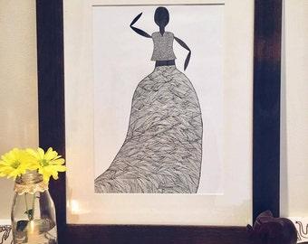 Gypsy Illustration