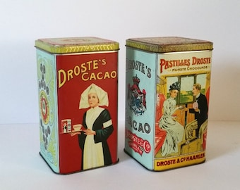 Old 'Droste' Cacao tin (5)