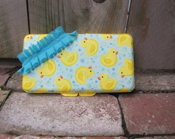 Decorative Wipe Case, Diaper Bag, Baby Shower Gift