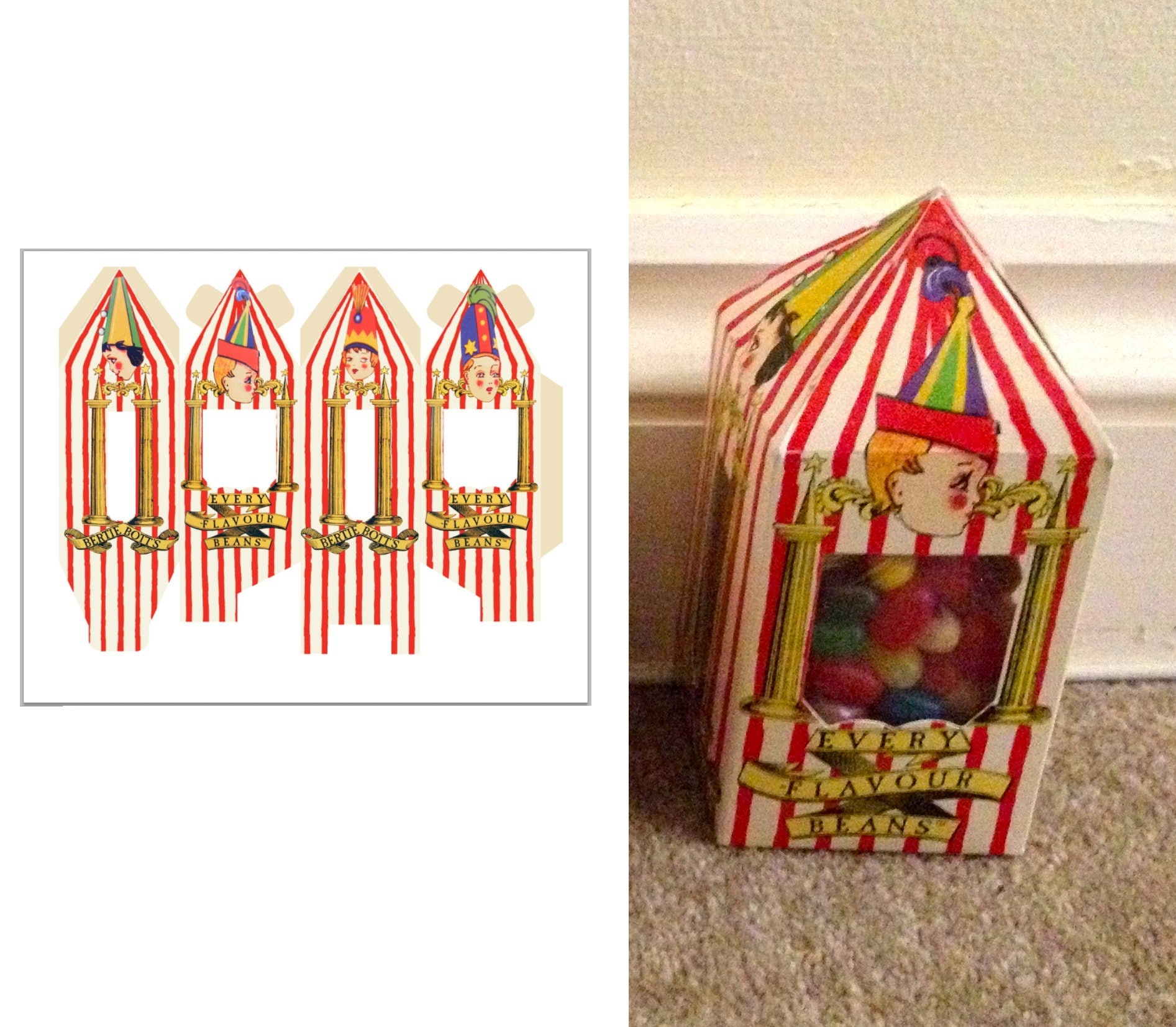 Bertie Botts Every Flavor Beans Box Related Keywords And Tags