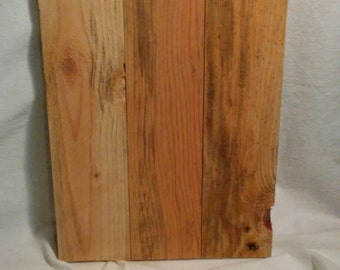 Made to order reclaimed pallet or fenceboard wall plaques
