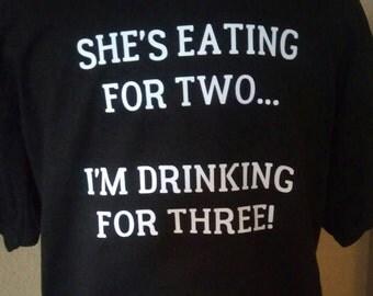 HIS pregnancy t shirt
