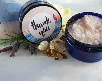 Thank you gifts, Aromatherapy bath salts, spa gift set, cute gifts for women, thinking of you gift,spa gift, thank you gifts,handmade, 200g