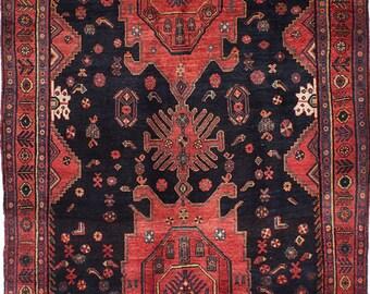 "4'9"" x 11'0"" Zanjan Persian Rug"