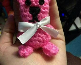 Tiny Teddy Keychains or Party favors any color.