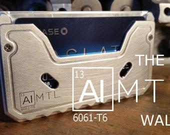 The ALMTL Wallet mens minimalist slim metal wallet RFID blocking