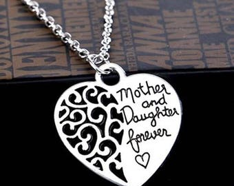 Necklace mother daughter