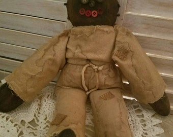 Primitive Grunged Doll