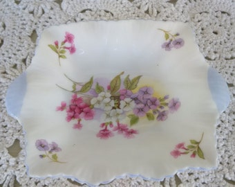 Shelley England china square dish
