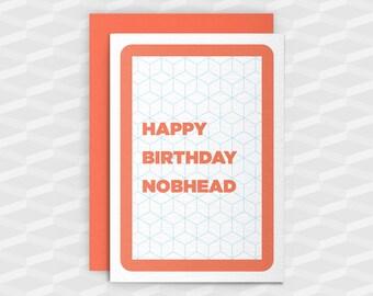 Rude Birthday Cards|Happy Birthday Rude|HAPPY BIRTHDAY N@BHEAD|Rude Greetings Card|Crude Birthday Card|Sarcasm Cards|Inappropriate Cards|Fun