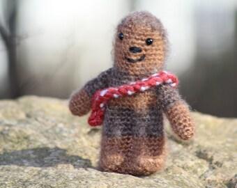 Chewy, Chewbacca, Star Wars, Amigurumi, Crochet