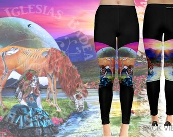 La Bella Muerta - Leggings - Day of the Dead