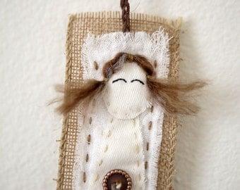 Little girl bookmark