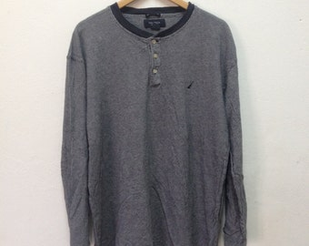 NAUTICA Long Sleeve Shirt stripped size L