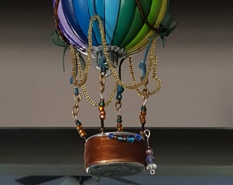 Handmade Hot Air balloon ornament
