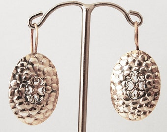 925 Silver pair of earrings