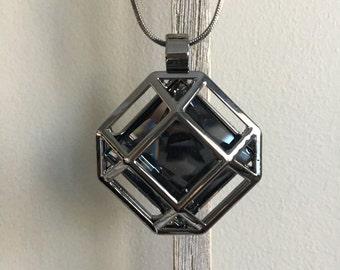 Geometric Sweater Necklace