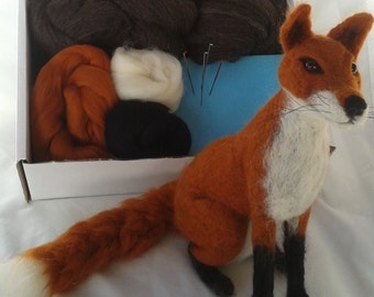 Needle Felt Fox Kit